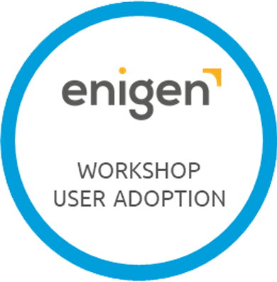 enigen workshop user adoption